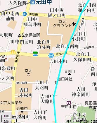 吉田山位置