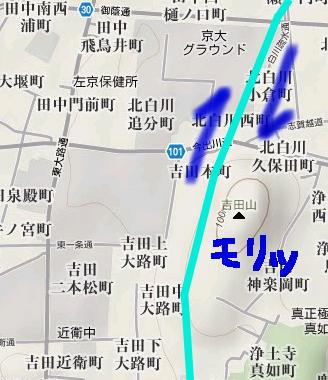 吉田山図解